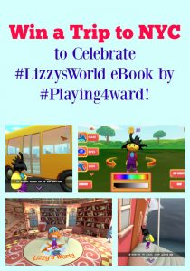 Win a Trip to NYC to Celebrate #LizzysWorld by #Playing4ward!