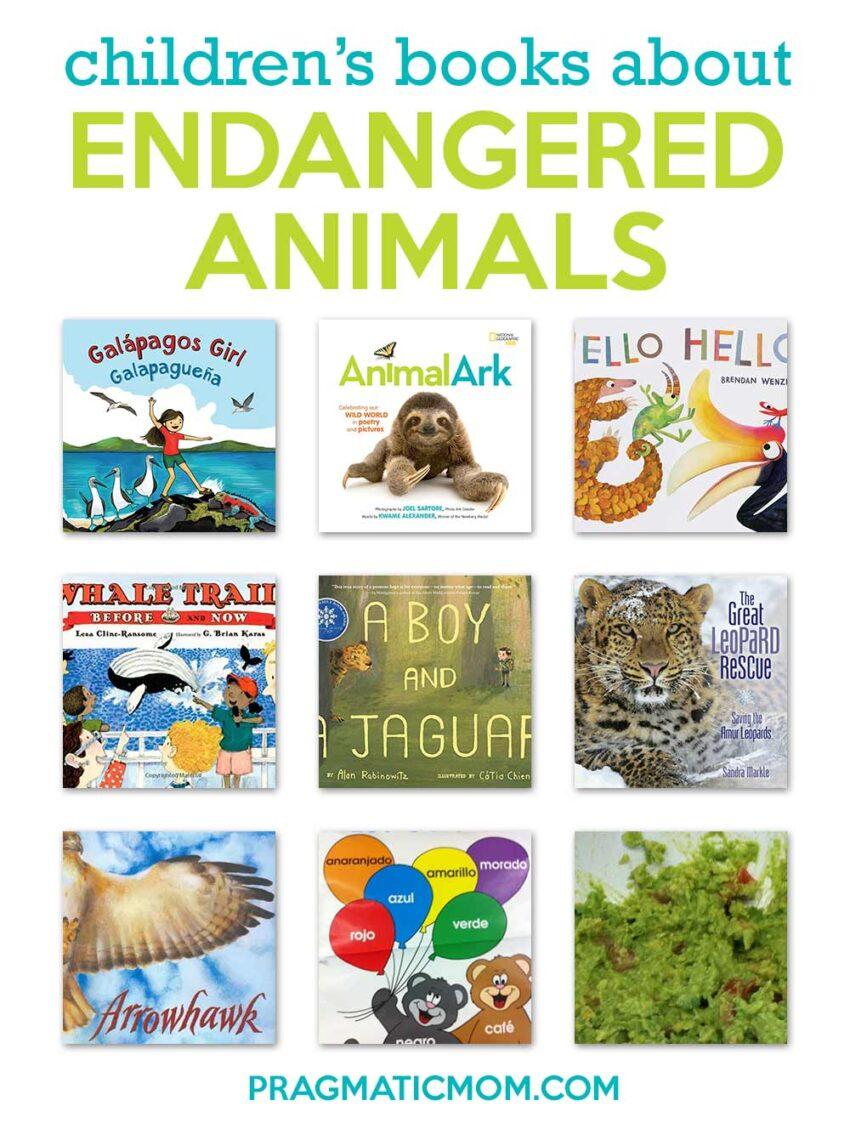 Children's Books About Endangered Animals