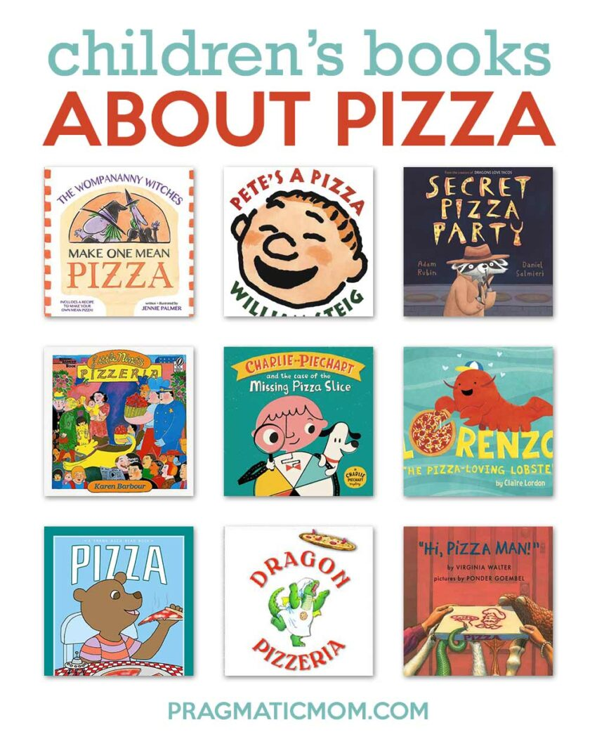 Children's Books About Pizza