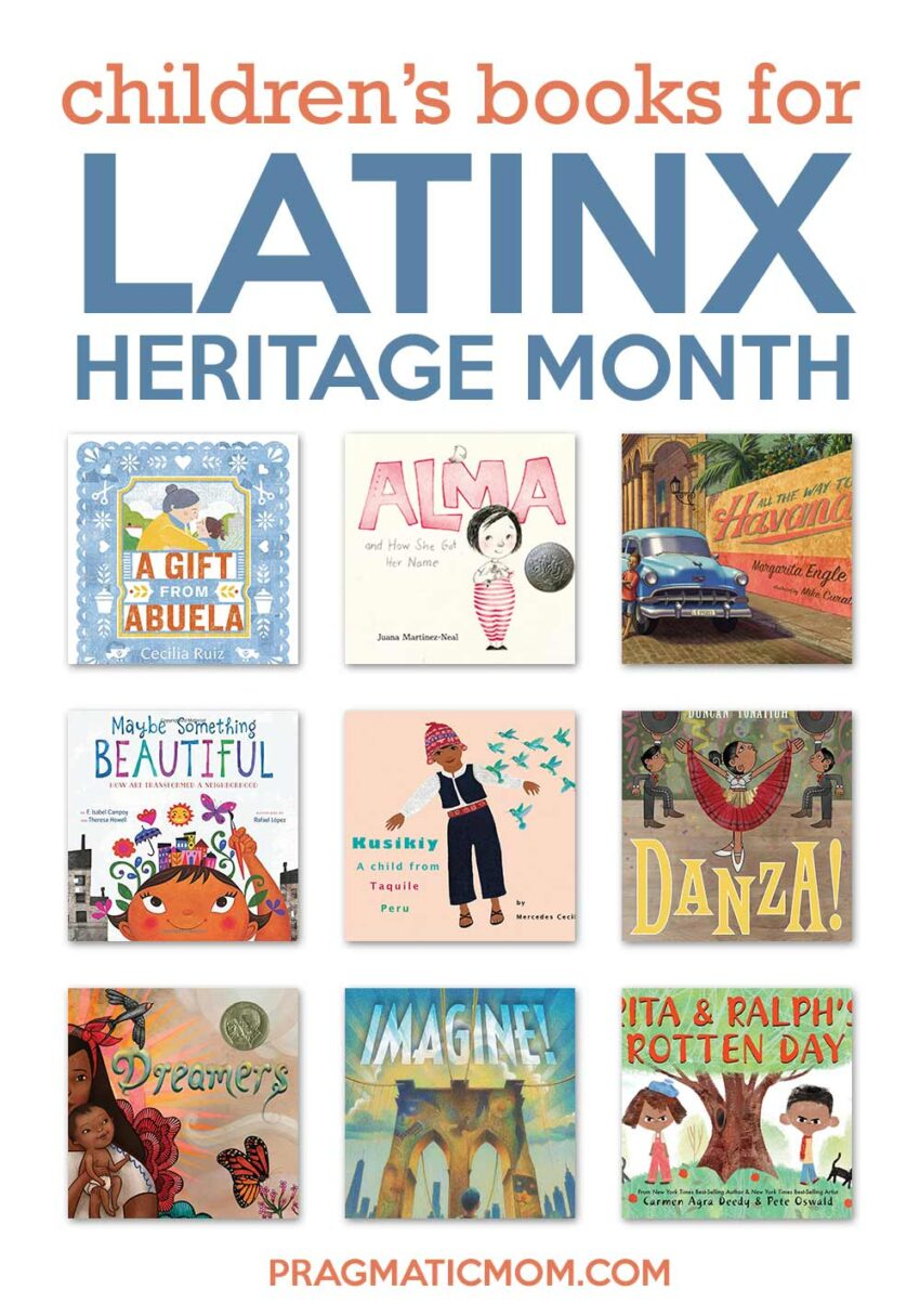 Children's Books for Latinx Heritage Month