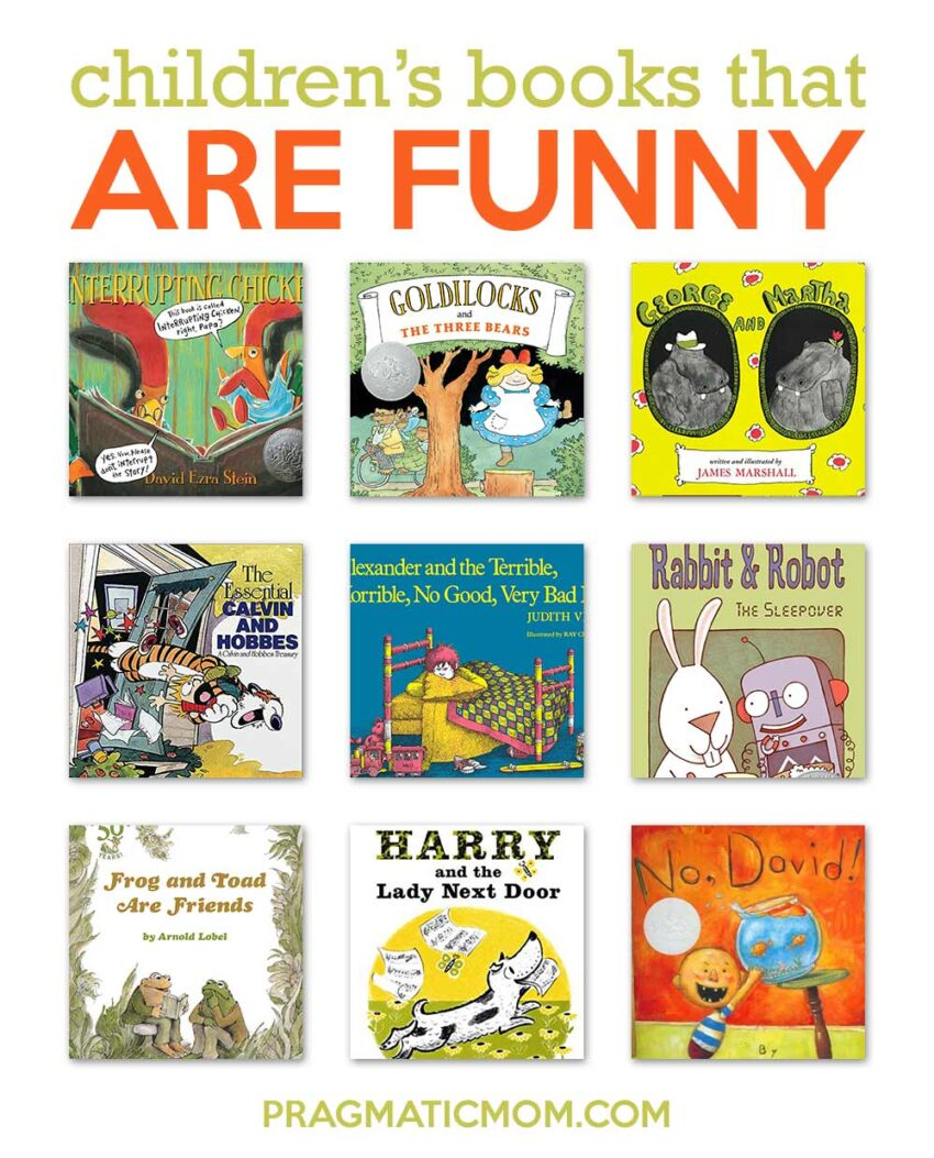 Funny Children's Books