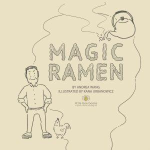 Magic Ramen cover design ideas