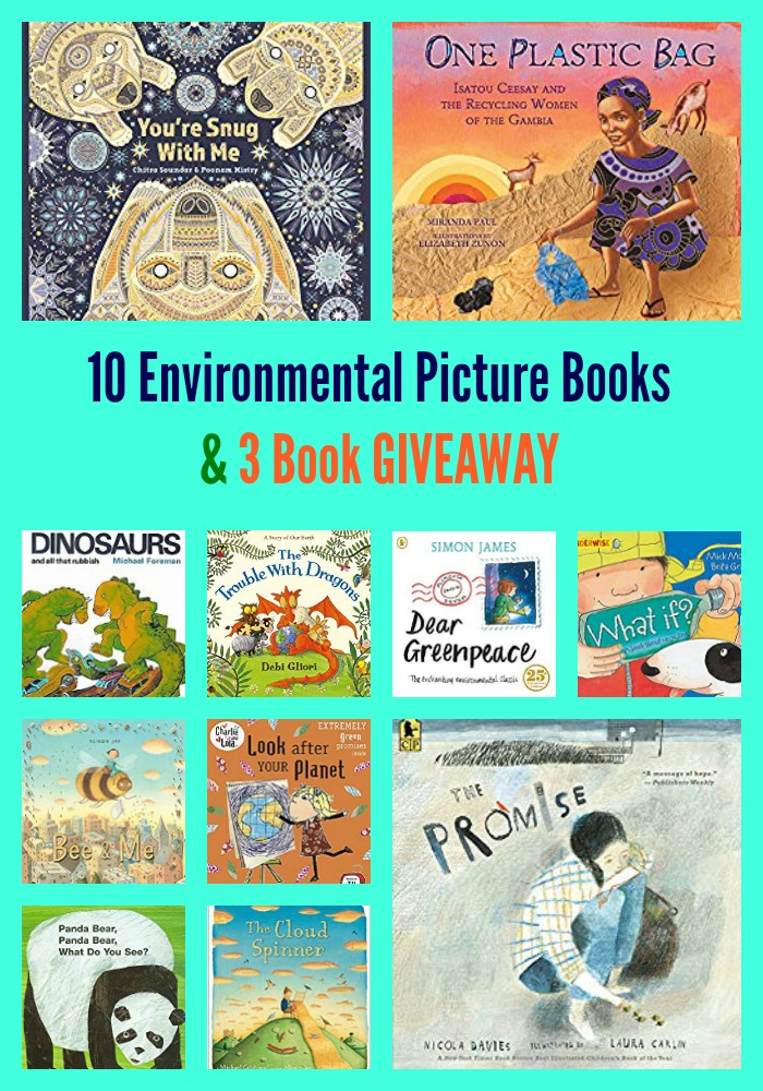 10 Environmental Picture Books & 3 Book GIVEAWAY