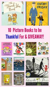 10 Picture Books to be Thankful For
