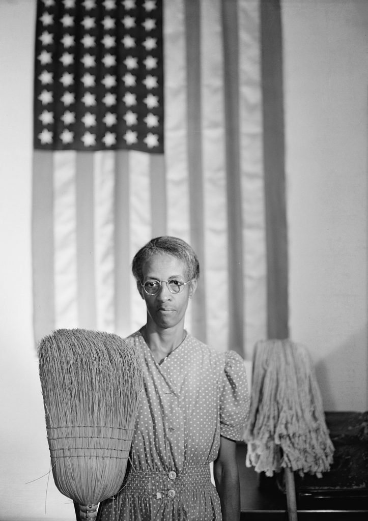 American Gothic, Washington, D.C. – a well-known photograph by Gordon Parks