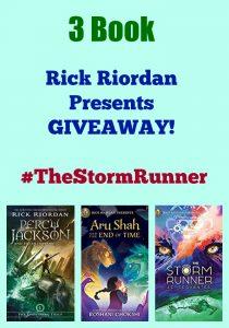 3 Book Rick Riordan Presents GIVEAWAY! #TheStormRunner