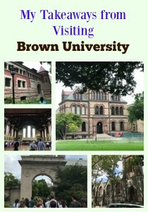 My big takeaways from the Brown University