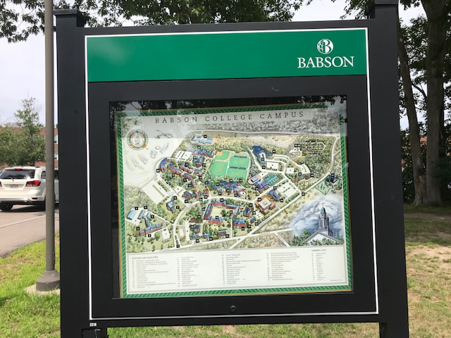 Babson College Visit