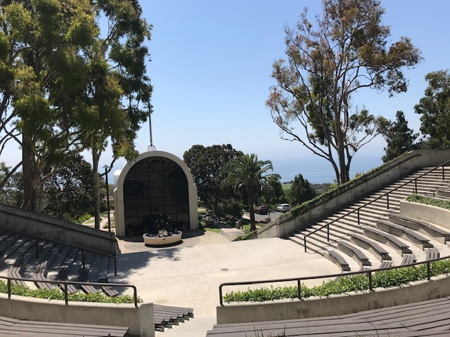 Visiting Pepperdine University