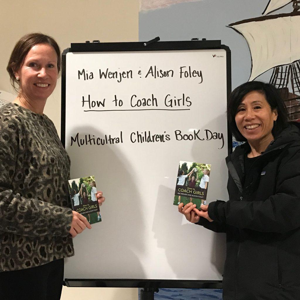 Mia Wenjen Alison Foley Family Community Literacy Night Presentation at Plymouth Community Intermediate School