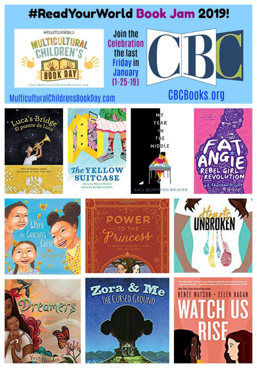 #ReadYourWorld Book Jam 2019!