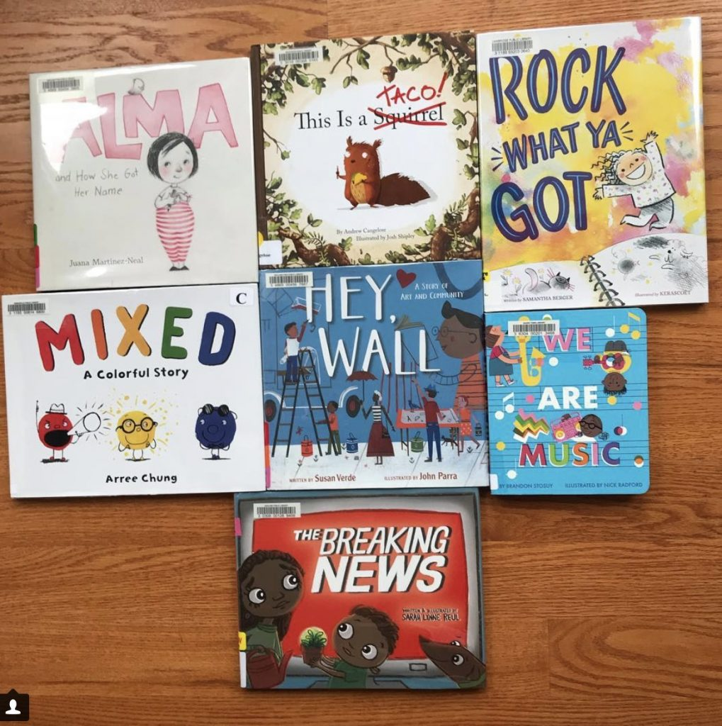 Cybils 2018 Picture Book Long List