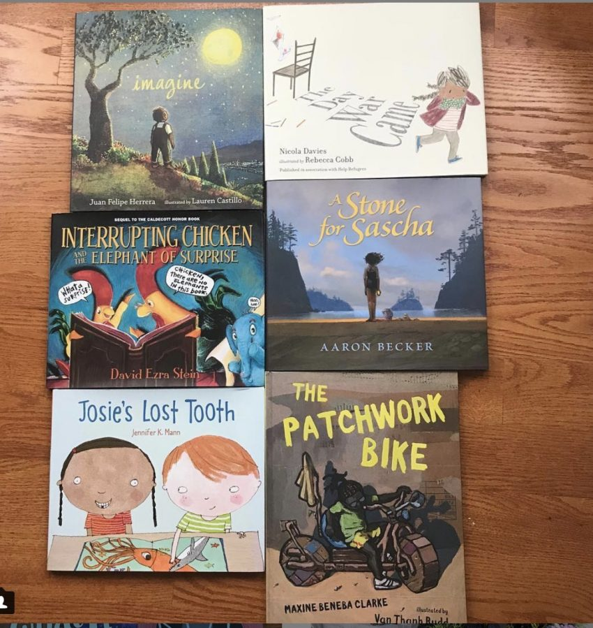 Cybils 2018 Picture Book Long List 2