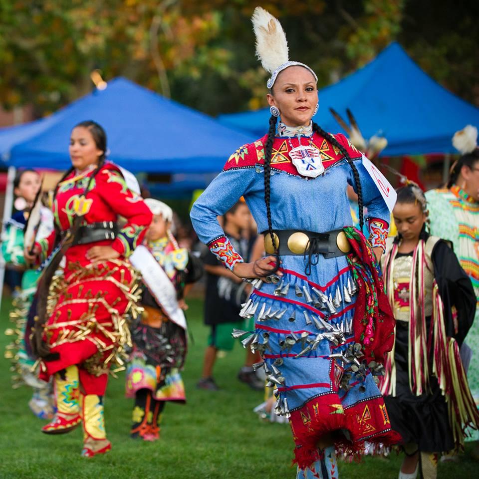 Powwow Visit Stockton