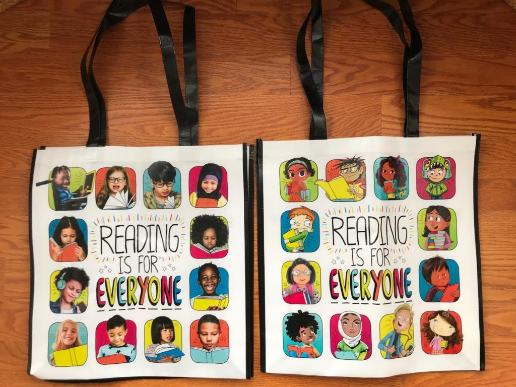 #ReadYourWorld Twitter Party Book Tote Giveaway