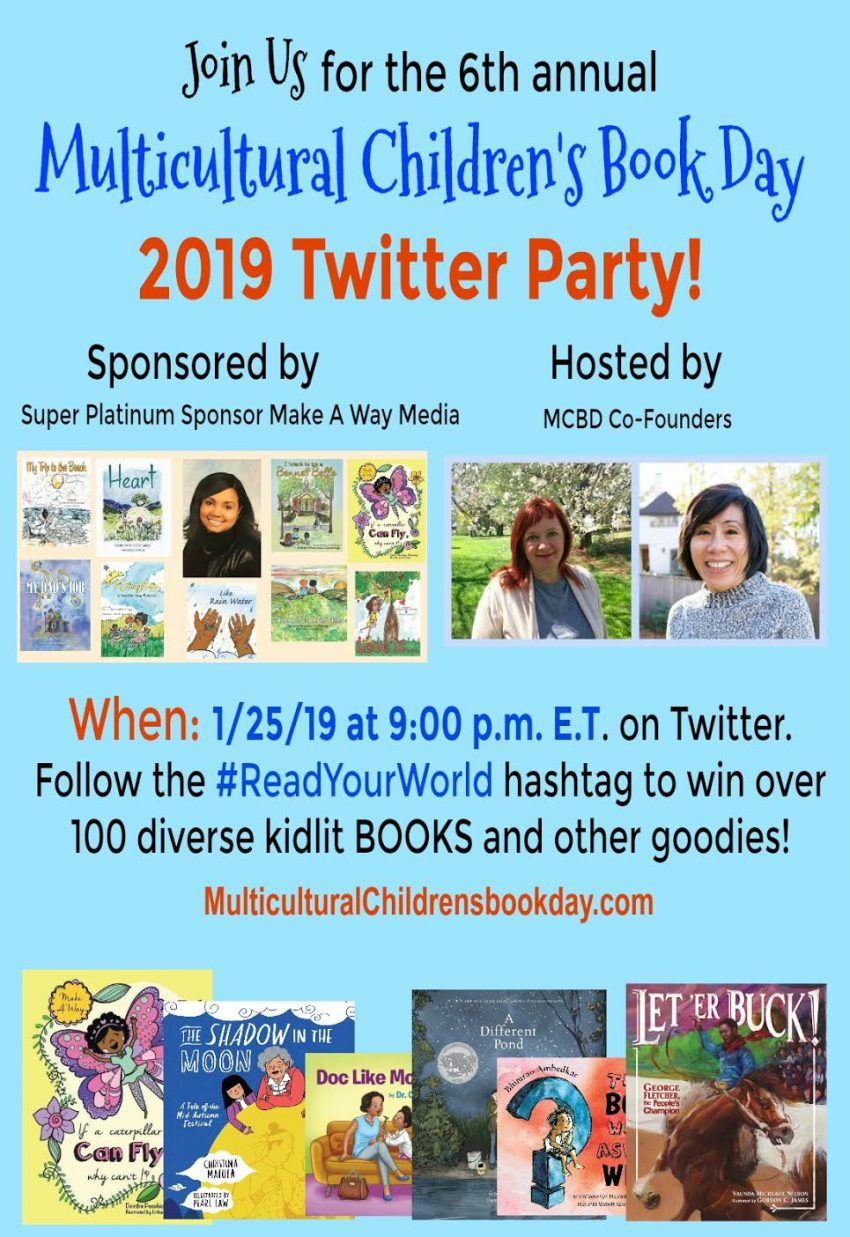 #ReadYourWorld Twitter Party