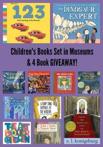 Children's Books Set in Museums & 4 Book GIVEAWAY!