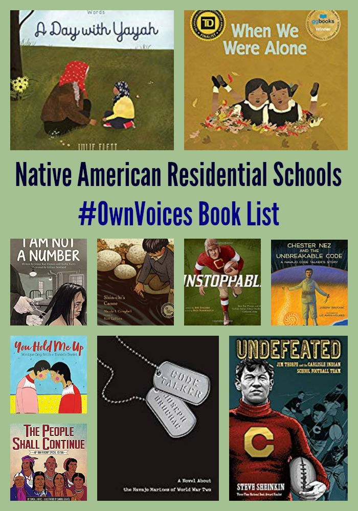 Native American Residential Schools #OwnVoices Book List