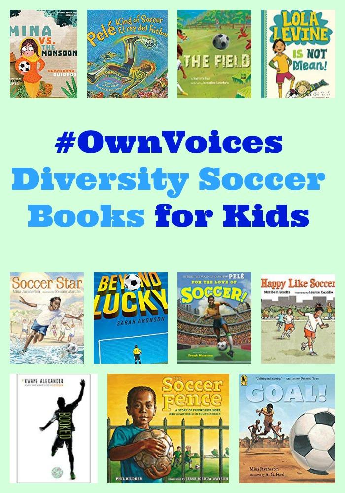 #OwnVoices Diversity Soccer Books for Kids