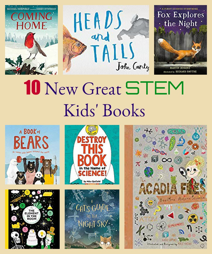 10 New Great STEM Kids' Books