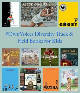 #OwnVoices Diversity Track and Field Books for Kids