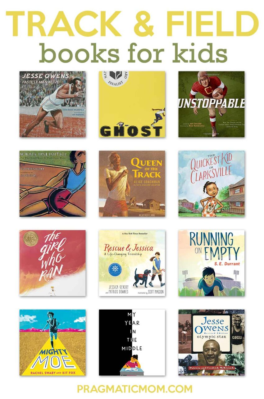 Track and Field Books for Kids