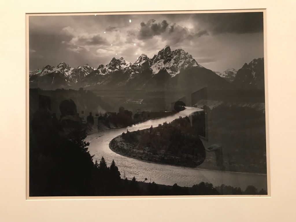 Iconic Ansel Adams photograph