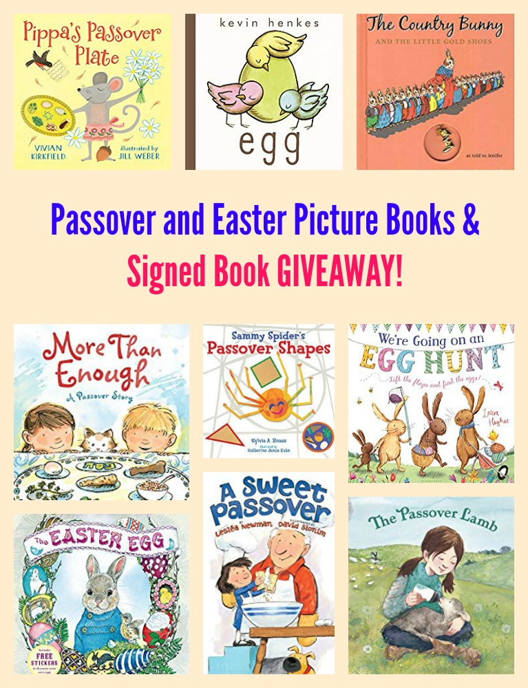 Passover and Easter Picture Books & Signed Book GIVEAWAY!
