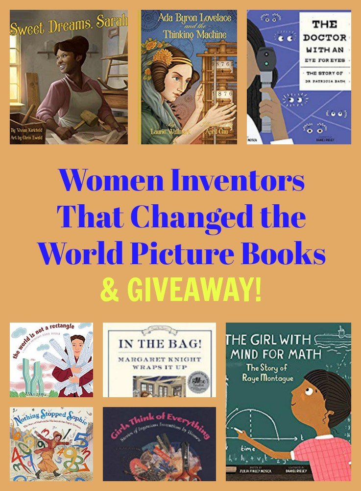 Women Inventors That Changed the World Picture Books & GIVEAWAY!