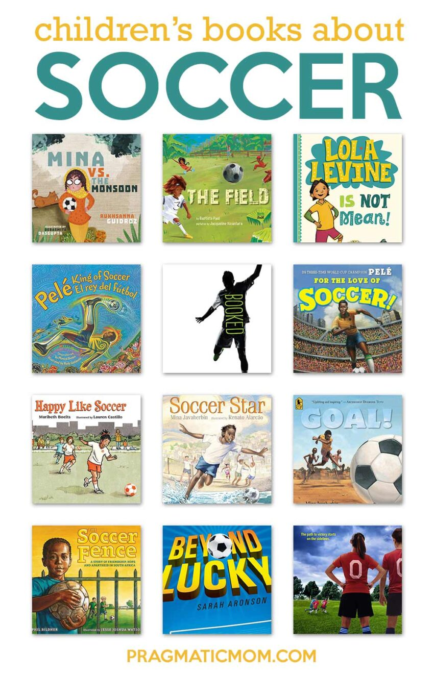 Children's books about soccer