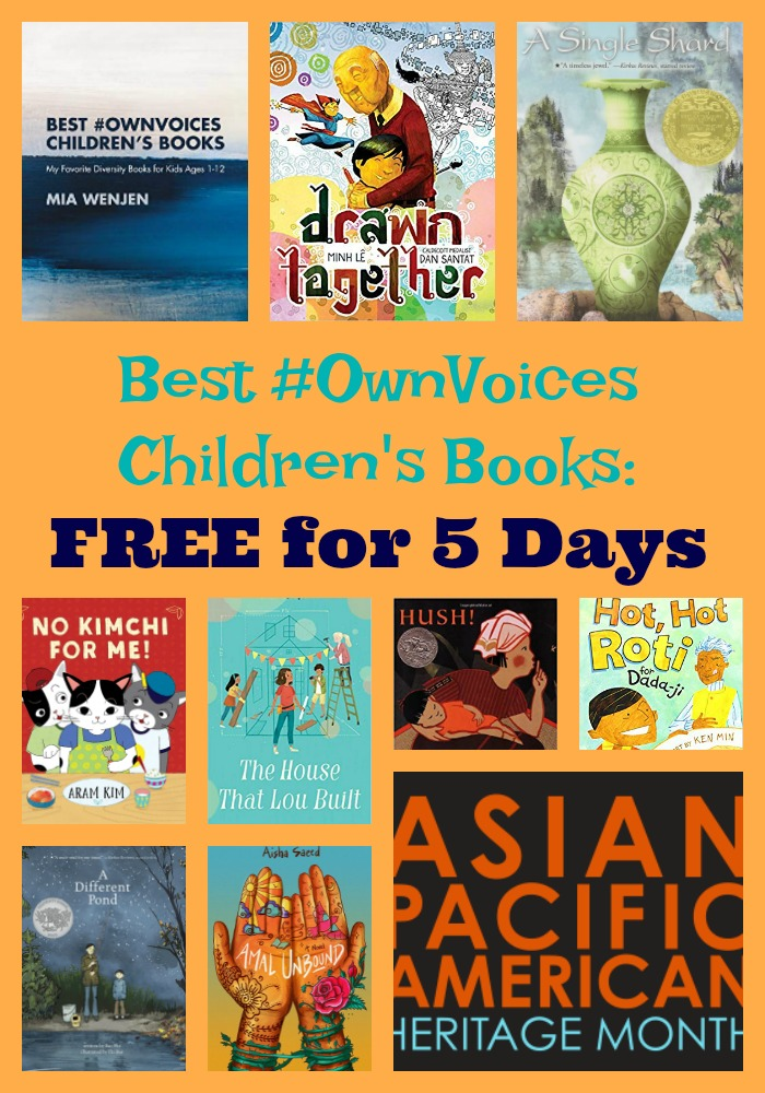My new eBook: Best #OwnVoices Children's Books FREE for 5