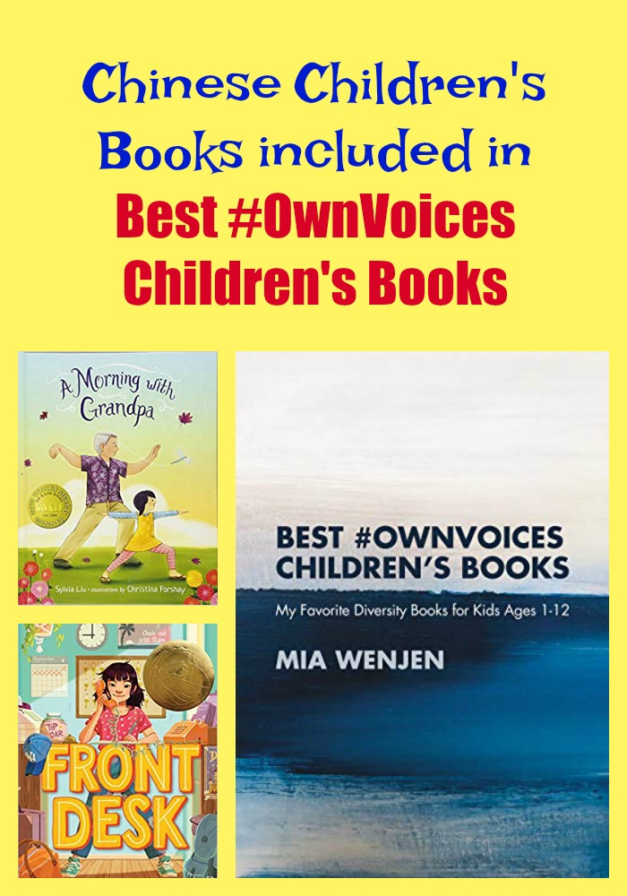 Chinese Children's Books included in Best #OwnVoices Children's Books