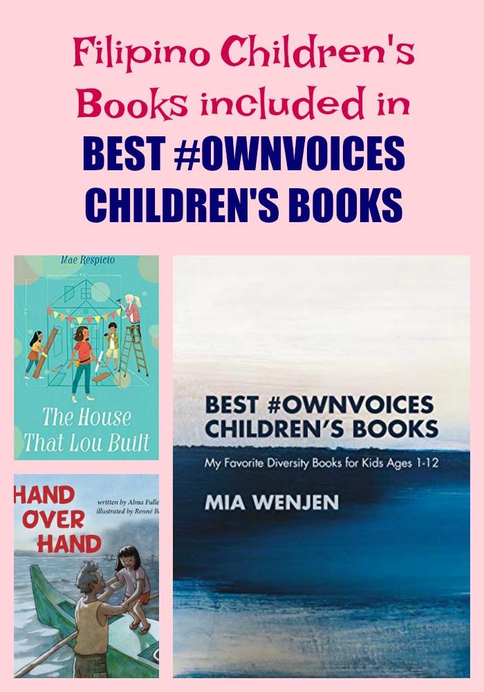 Filipino Children's Books included in BEST #OWNVOICES CHILDREN'S BOOKS