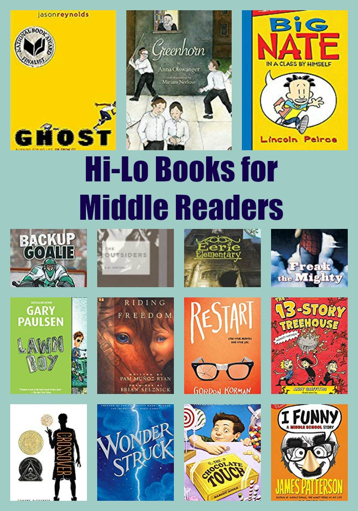 Hi-Lo Books for Middle Readers
