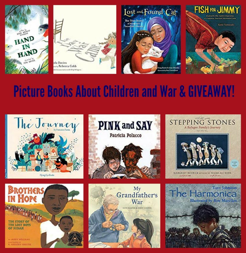 Picture Books About Children and War & GIVEAWAY!