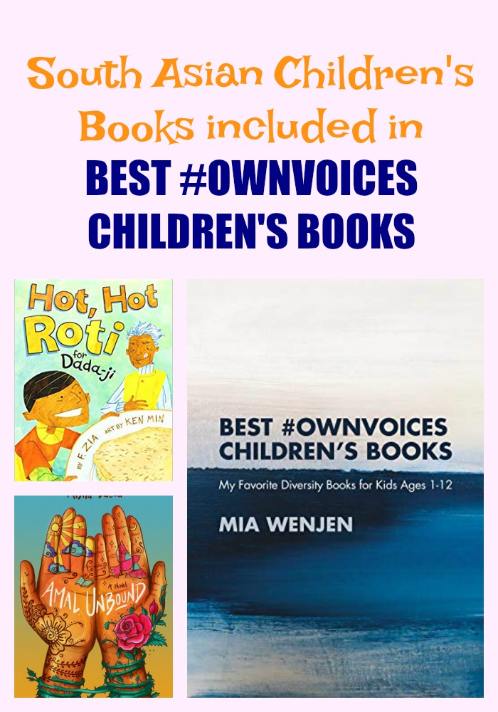 South Asian Children's Books included in BEST #OWNVOICES CHILDREN'S BOOKS