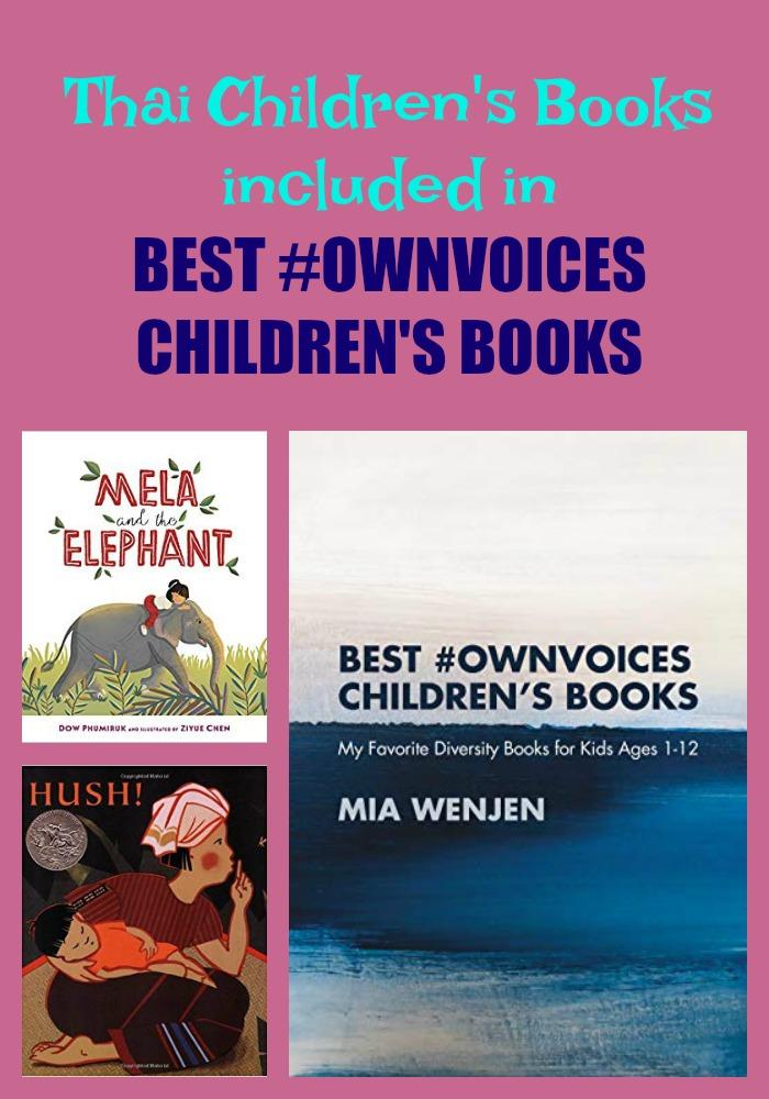 Thai Children's Books included in BEST #OWNVOICES CHILDREN'S BOOKS