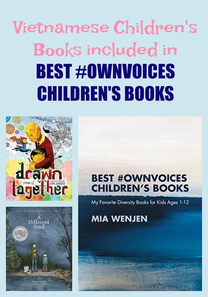 Vietnamese Children's Books included in BEST #OWNVOICES CHILDREN'S BOOKS