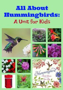 All About Hummingbirds: A Unit for Kids