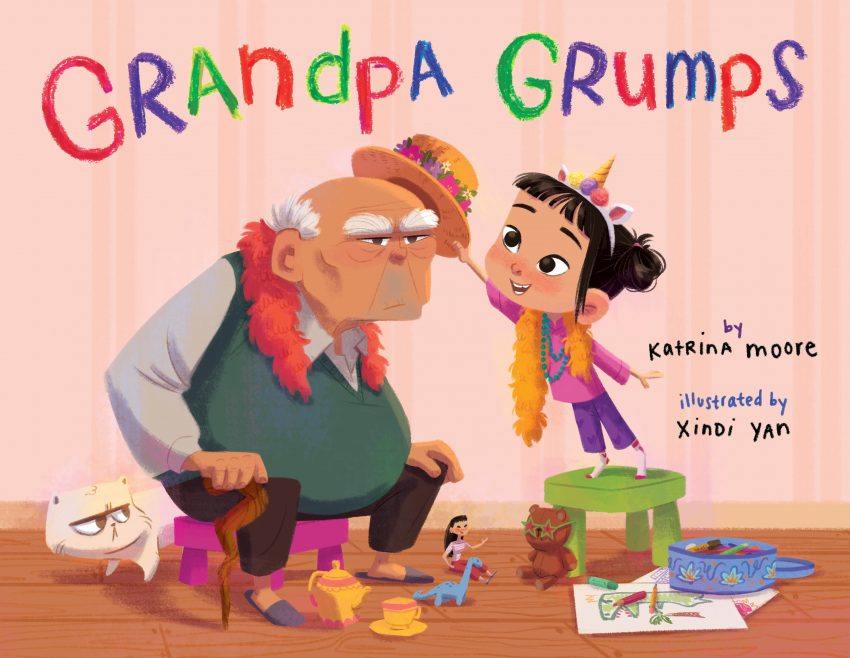 Grandpa Grumps Cover Reveal!