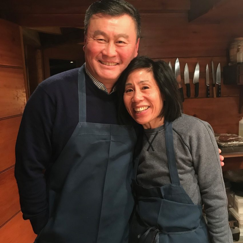 Saltbox Kitchen cooking class for Valentine's Day
