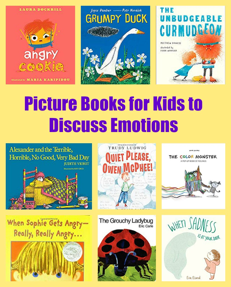 Picture Books for Kids to Discuss Emotions