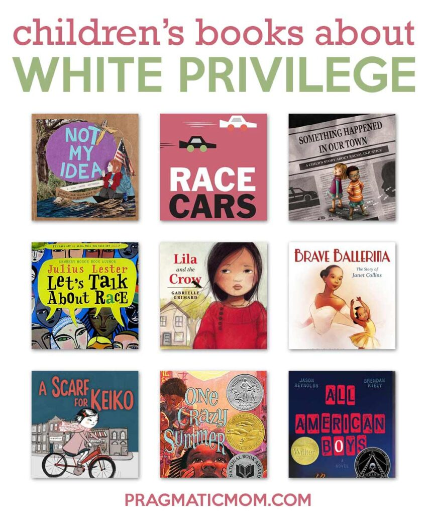 Children's Books About White Privilege