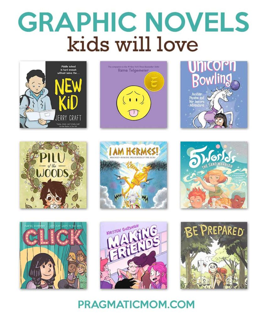 Great New Graphic Novels for Kids