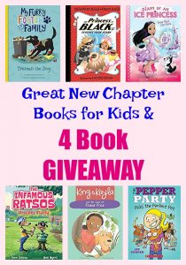 Great New Chapter Books for Kids & 4 Book GIVEAWAY