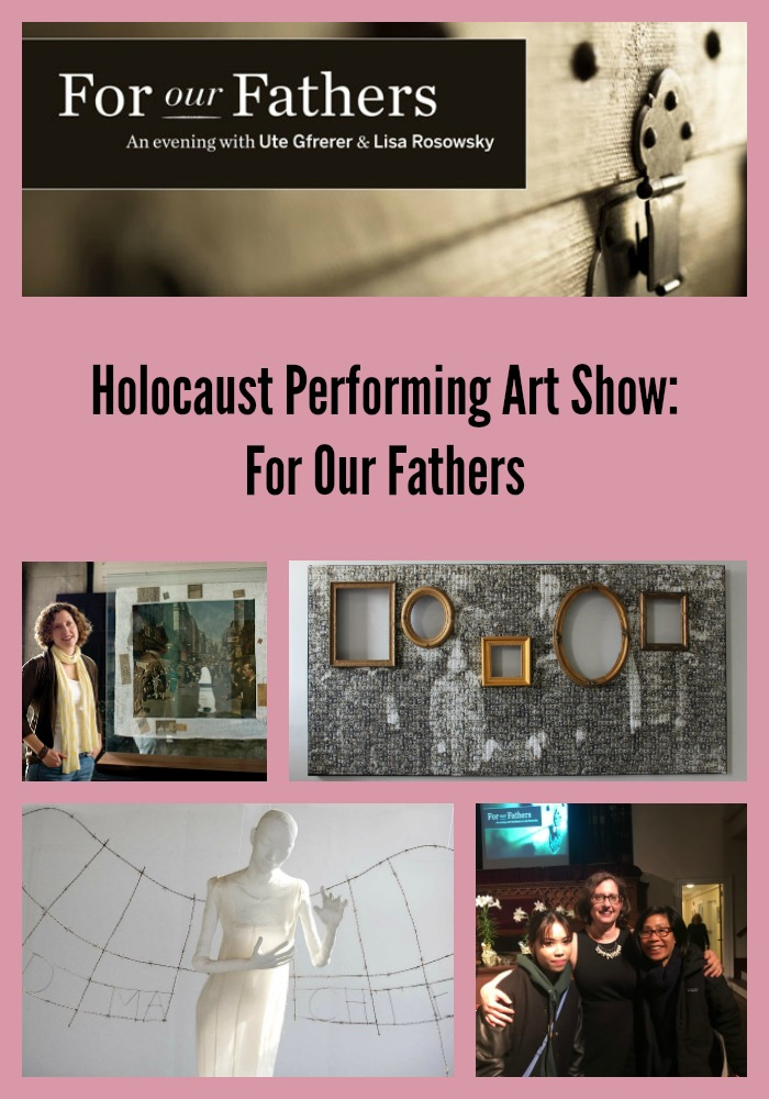Holocaust Performing Art Show: For Our Fathers