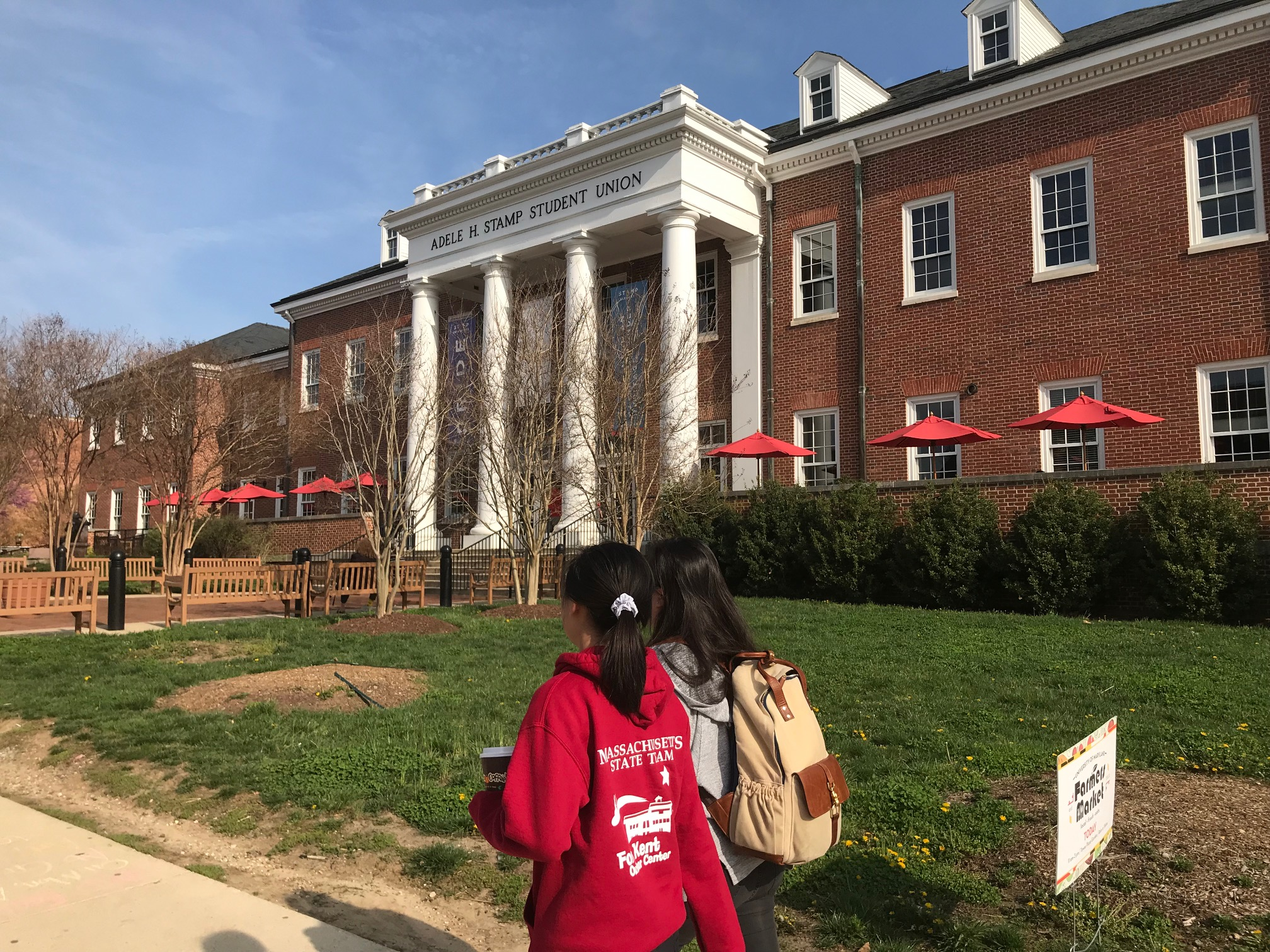 The University of Maryland College Park campus visit