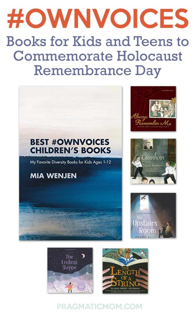 Books Kids and Teens for Holocaust Remembrance Day