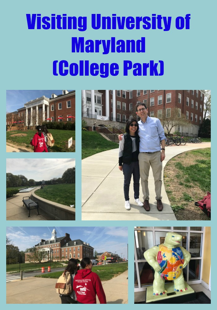 Visiting University of Maryland (College Park)