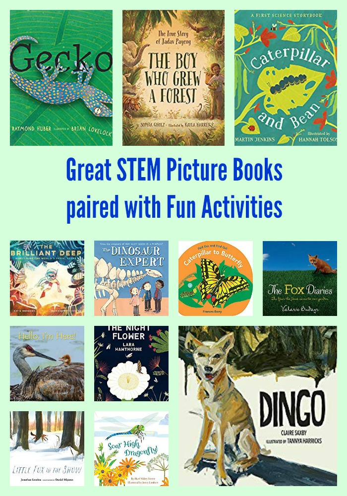 Great STEM Picture Books paired with Fun Activities